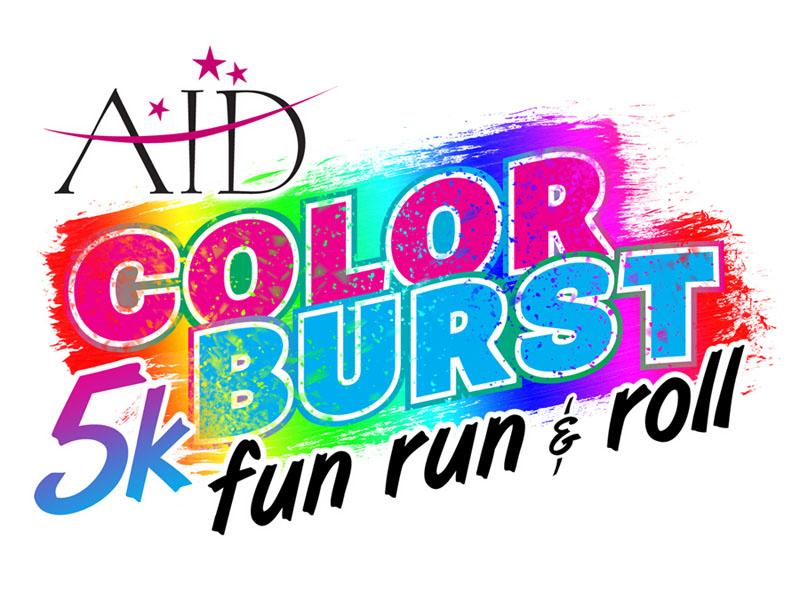 Color Burst 5k Logo