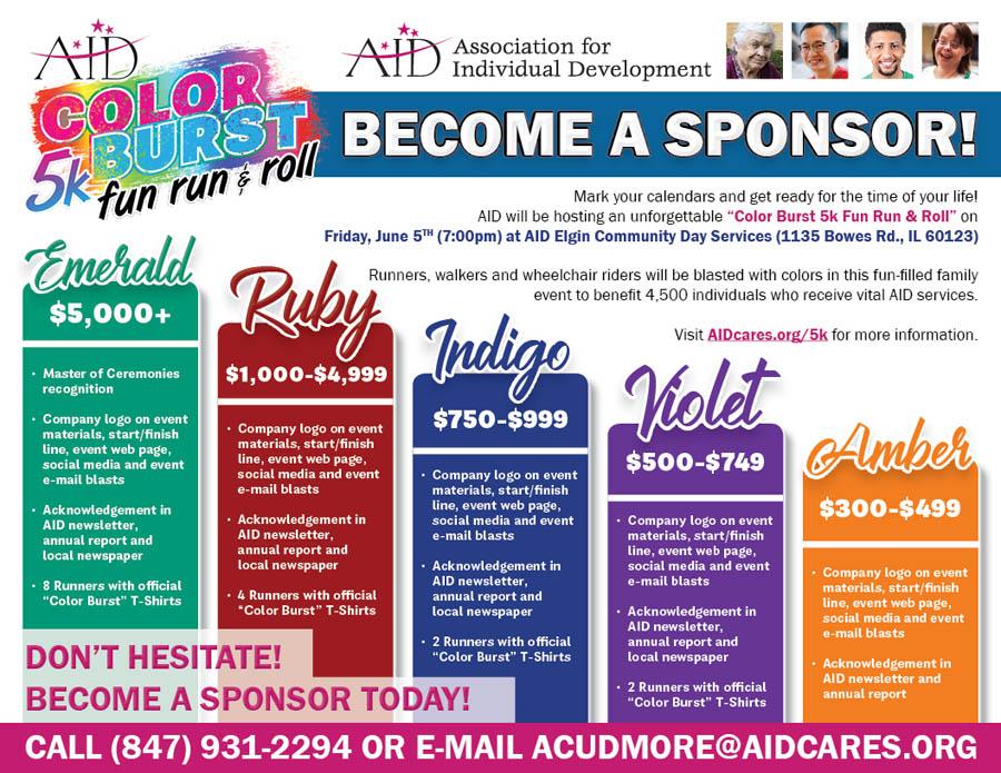color burst sponsorship