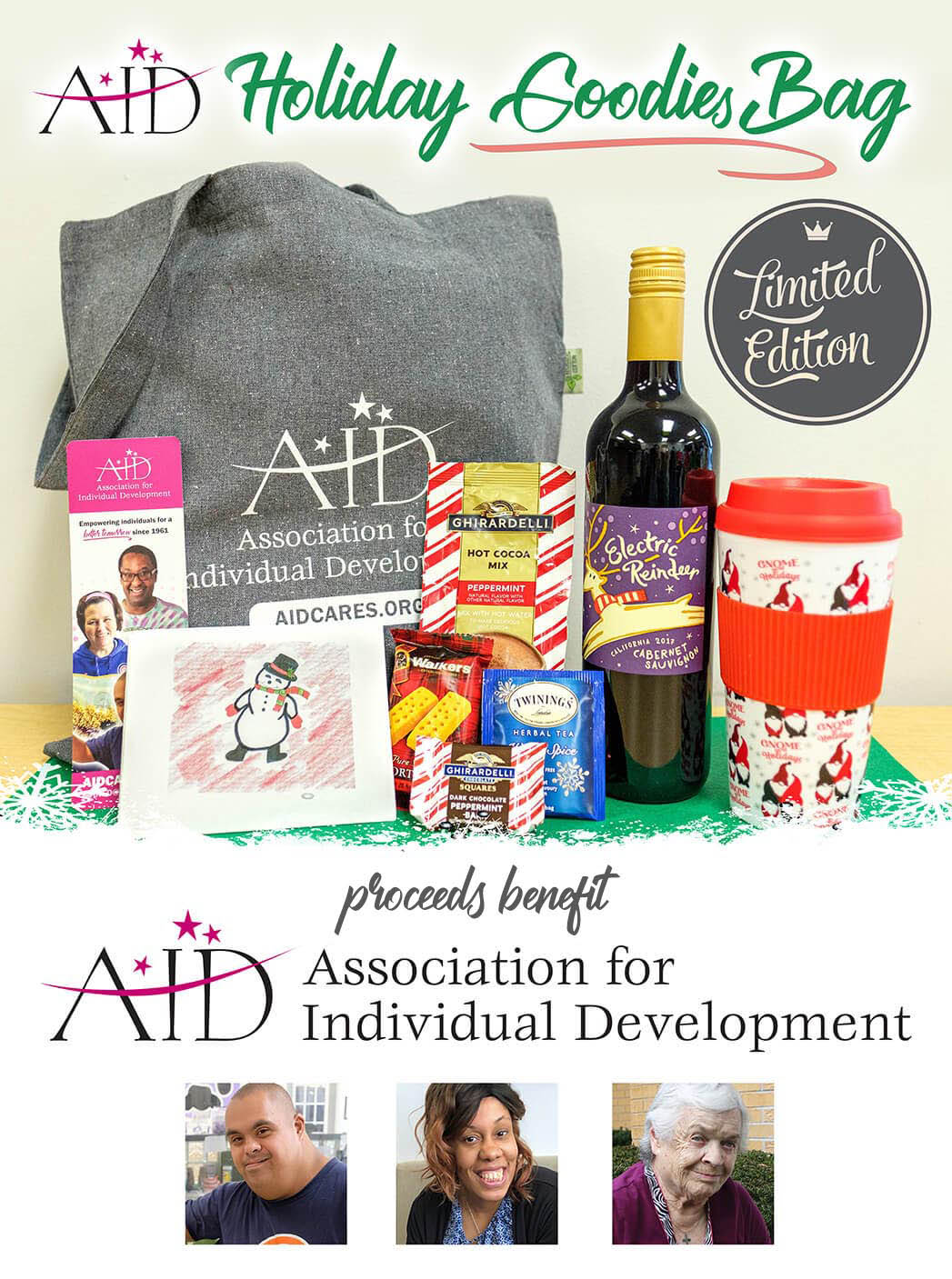 AID Holiday Goodies Bag