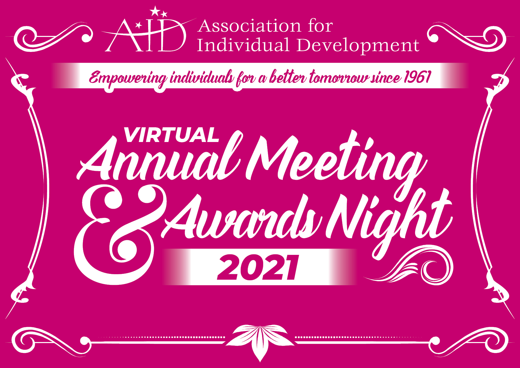Virtual Annual Meeting & Awards Night 2021